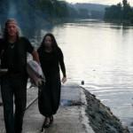 Frachter - Barbara Stoll und Rainbowman Reinhard Stengel